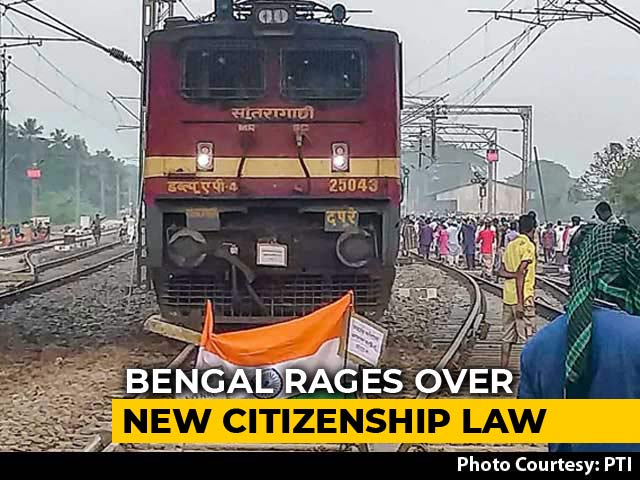Video : Internet Suspended In Parts Of Bengal Amid Protests Over Citizenship Act