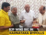 "Video : BJP Sweeps Karnataka Bypolls, Congress ""Accepts Defeat"""
