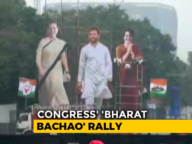 Video: Congress Mega Rally Today To Attack Government Over Citizenship Act, Jobs