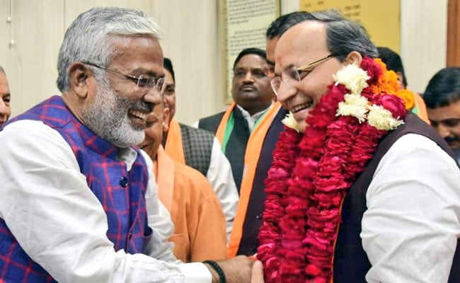 BJP's Arun Singh Files Nomination Rajya Sabha, Set To Get Elected Unopposed