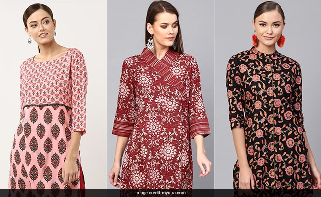 Grab These 9 Stunning <i>Kurtas</i> Under Rs 599 From Myntra