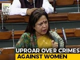 "Video : ""Cops' Weapons Not Showpiece"": Fiery Parliament Debate On Rapes"