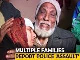 "Video : ""Police Rampage"" In Uttar Pradesh's Muzaffarnagar"