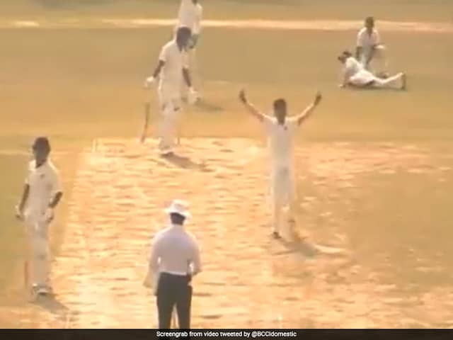 Ranji Trophy: Rex Singhs 8-Wicket Haul Puts Manipur In Control Over Mizoram