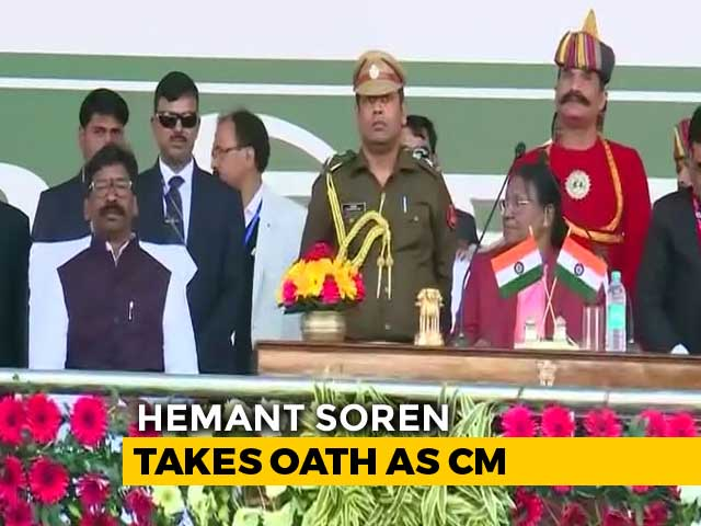 Video: Hemant Soren Takes Oath As 11th Chief Minister Of Jharkhand