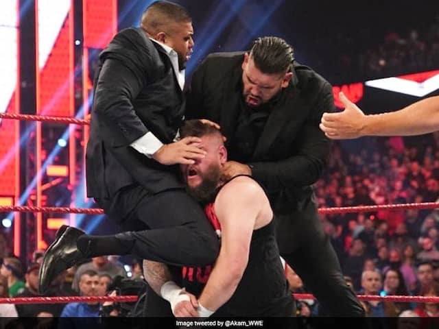 Kevin Owens Brutally Dragged From The Ring By The Authors Of Pain