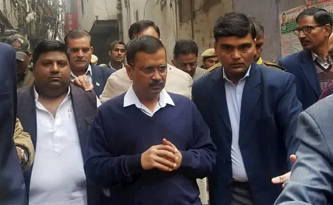 Delhi Fire: Arvind Kejriwal Orders Probe, Rs 10 Lakh For Families Of Victims