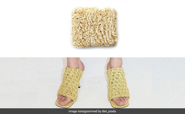 """""""Ramen Shoes"""" Provide Meme Fodder To Social Media"""