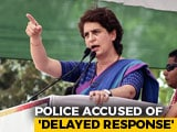 "Video : ""Do Far More Than Just Speak Up"": Priyanka Gandhi On Crimes Against Women"