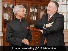 "Foreign Media On S Jaishankar's ""Abruptly"" Cancelled Meet In Washington"