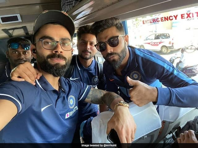 India vs West Indies: Team India Reaches Chennai For First ODI, Virat Kohli Shares Picture On Twitter