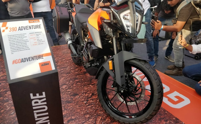 KTM 390 Adventure Showcased At India Bike Week 2019