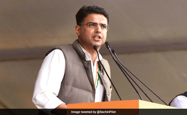 'Message From People Clear': Sachin Pilot's Swipe At BJP Over Jharkhand