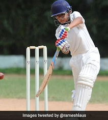 Dravid's Son Samit Follows Up Double-Century With Splendid All-Round Show