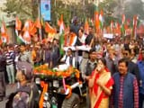 Video : JP Nadda Takes Out BJP Rally In Kolkata In Support Of Citizenship Act