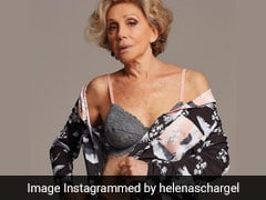 This Granny Turned Lingerie Model Wants To Make Older Women More Visible