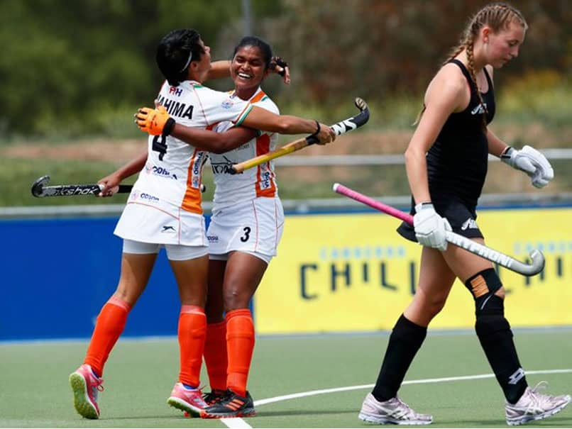 HOCKEY: thats how Indian junior women team beat to New Zealand