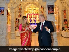 At London Temple, Boris Johnson Pledges Support To PM Modi's New India
