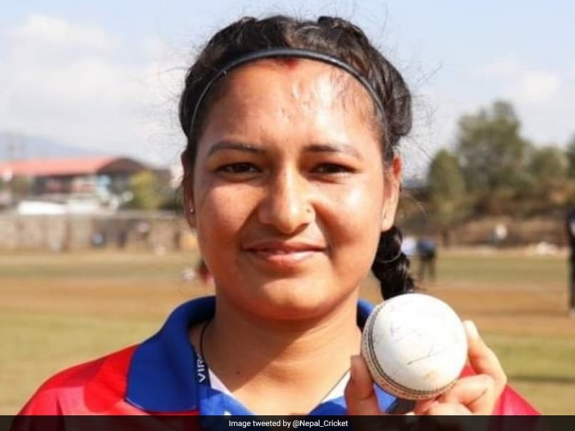 Anjali Chand scripts history in T20I cricket