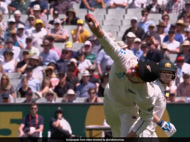 Watch: Henry Nicholls Takes One-Handed Screamer To Get Rid Of Steve Smith In Australia vs New Zealand 2nd Test