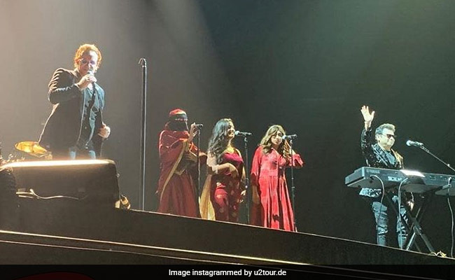 U2 Rock Mumbai Concert, AR Rahman And Daughters Cast Musical Spell With Ahimsa