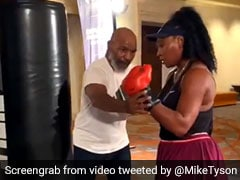 """""""GOAT"""" Serena Williams Impresses Mike Tyson With Her Boxing Skills. Watch Video"""