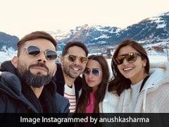 Anushka Sharma और विराट कोहली स्विटजरलैंड में कर रहे थे एंजॉय, तभी टकराए वरुण धवन और Natasha Dalal- देखें Photo
