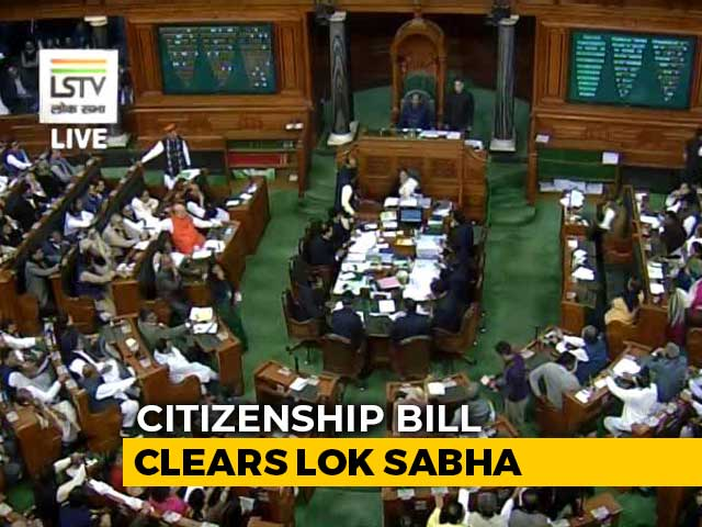 Video : Amid Fierce Protests, Citizenship Bill Clears Lok Sabha