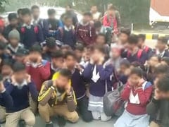"""""""Sorry Sir..."""": Noida Students On Sit-In For Classmates Sent To Juvenile Home Over Fake Notice"""