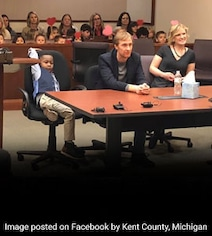 5-Year-Old Was To Be Adopted In US Courtroom, He Invited His Entire Class