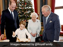 Watch: Prince George Shows Off Pudding-Making Skills For Christmas Charity Event