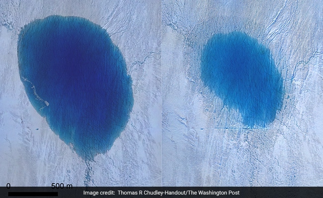 Greenland Ice Sheet Cracks Into Waterfalls, Threatens Rise In Sea Level