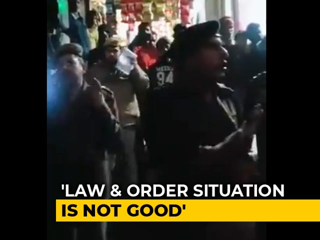 """Video : Video Shows Cop Telling Students In Delhi To Leave. Police Say """"Fake"""""""