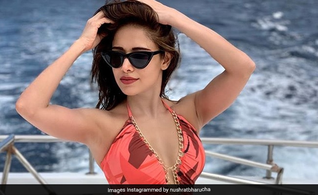 Nushrat Bharucha's Vacation Pics From Maldives Are Getting Better By The Day
