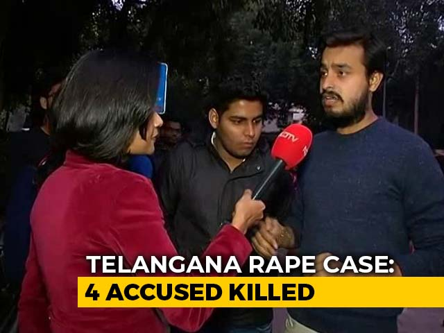 Video : Hyderabad killings: Instant Justice Overrides Rule Of Law?