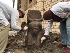 """""""Rare"""" Bust Of Pharaoh Discovered Near Giza In Egypt"""