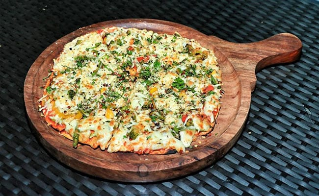 Recipe Of Garden Surpise Pizza By Soul The Sky Lounge
