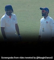 Watch: Yusuf Pathan Refuses To Walk Off After Umpire Rules Him Out