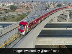 पाकिस्तान की पहली Metro Train का ट्रायल रन लाहौर शहर में शुरू