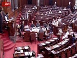 Video : Rajya Sabha TV Stopped Telecast When Opposition Heckled Amit Shah