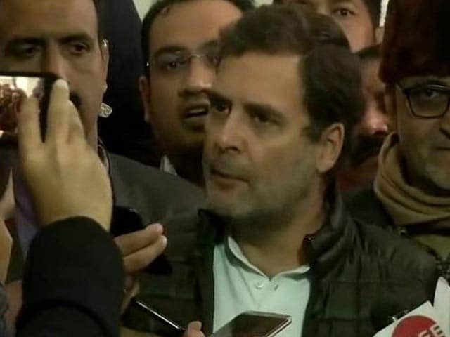 "Video : Curfew Extended In Guwahati Amid Protests, Rahul Gandhi Says Its ""Rape In India"" Now, And Other Top Stories"