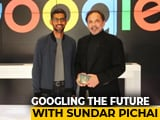 Video : Google Co-Founders Step Aside For Sundar Pichai - Watch His Interview (Aired: October 2017)