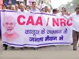सीएए के विरोध में पुणे में हुआ प्रदर्शन, विधानसभा का विशेष सत्र बुलाने की मांग