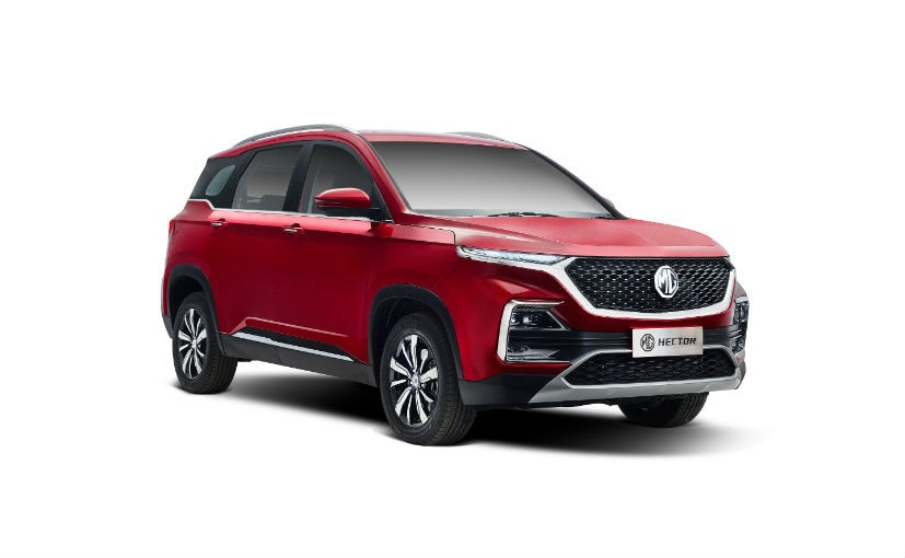 The MG Hector was launched in July this year and received good response