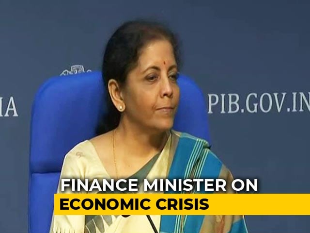 Video : Results Have Started Showing, Says Nirmala Sitharaman On Economic Crisis