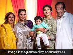 पूर्व क्रिकेटर मोहम्मद अजहरुद्दीन की बहू बनने जा रही हैं सानिया मिर्जा की बहन, देखिए मेहंदी रस्म की तस्वीरें...