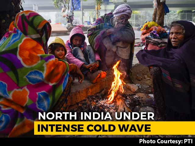 Video : At 2.4 Degrees, Delhi In For Second Coldest December Since 1901