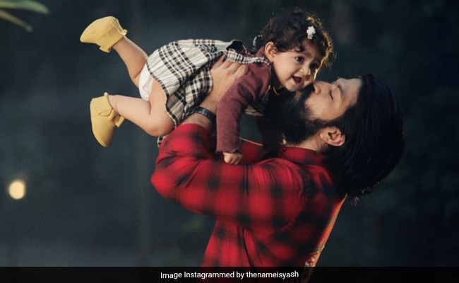Yash And Radhika Pandit Post Birthday Wishes For Daughter Ayra. Can't Decide Which Is Cuter