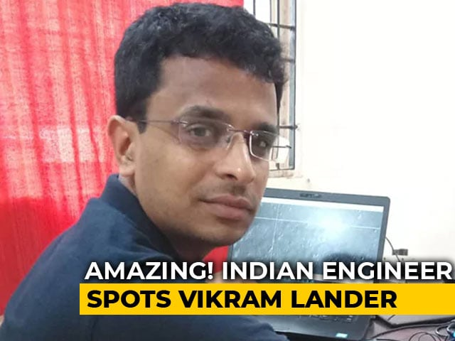 Video : Chennai Engineer Helps NASA Find Debris Of Chandrayaan-2 Moon Lander Vikram