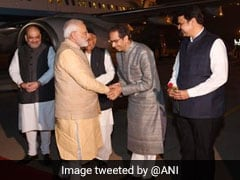 Uddhav Thackeray Meets PM Modi For First Time Since Becoming Chief Minister
